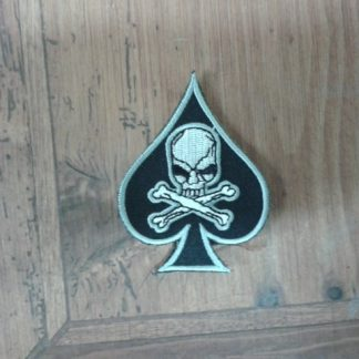 ACE OF SPADES SKULL BLACK