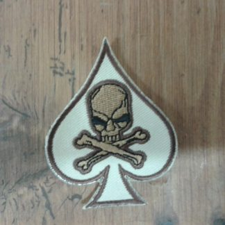 ACE OF SPADES SKULL TAN