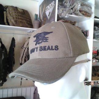 Cappello Navy Seals Tan