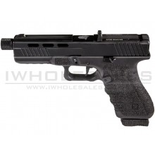 Secutor - Gladius - 17 Series Custom Pistol (Black Barrel - Co2 Powered - Gas Ready - Black)